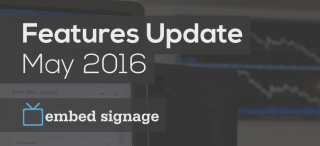 Embed Signage Announces Updates