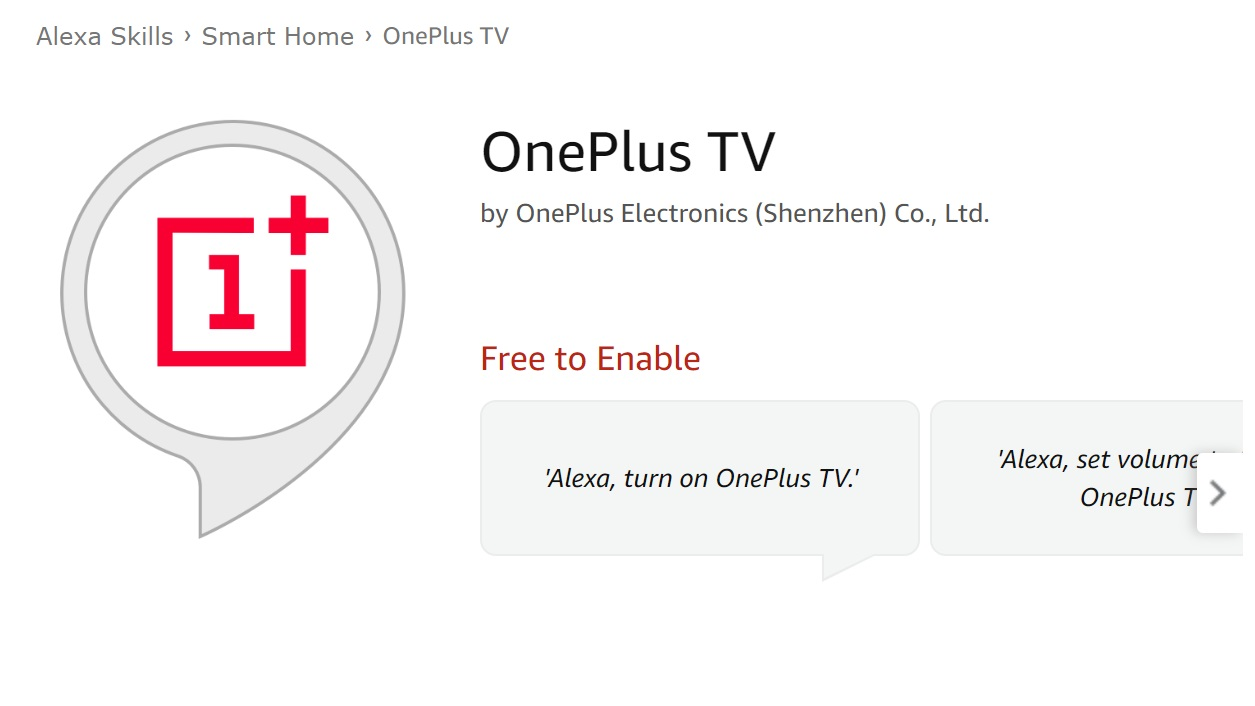 The OnePlus TV likely to be Alexa enabled