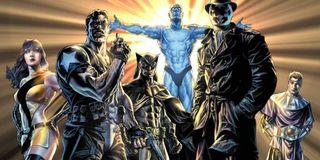 watchmen comic art