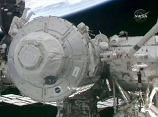 Space Station Gets New Room, Windows in Spacewalk
