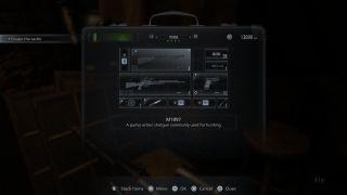 Resident Evil Village weapons/resident evil village briefcase