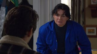 Can Moira forgive her brother in Emmerdale