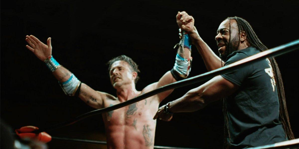 Booker T and David Arquette in You Cannot Kill David Arquette