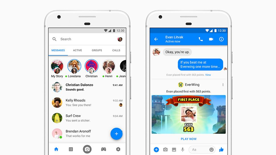 Facebook Messenger is trialing autoplaying video ads