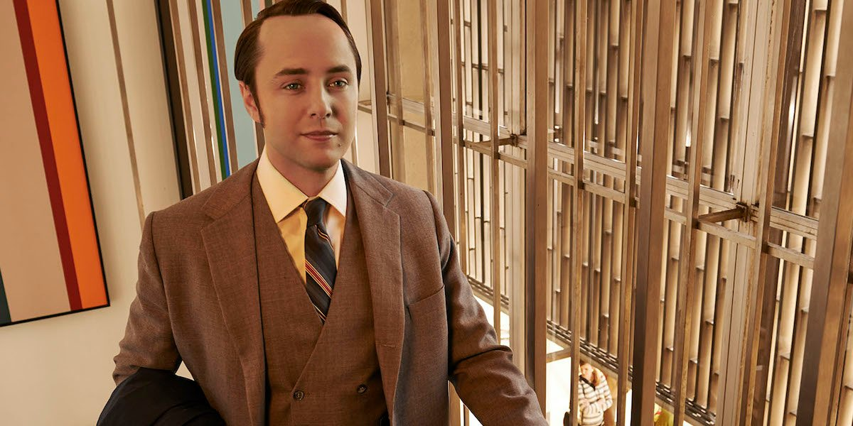 Vincent Kartheiser as Pete Campbell in AMC's Mad Men