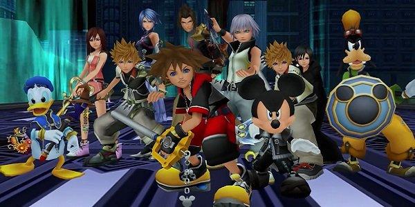 The cast of Kingdom Hearts.