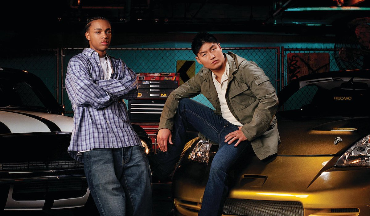 Bow Wow and Brian Tee in Tokyo Drift