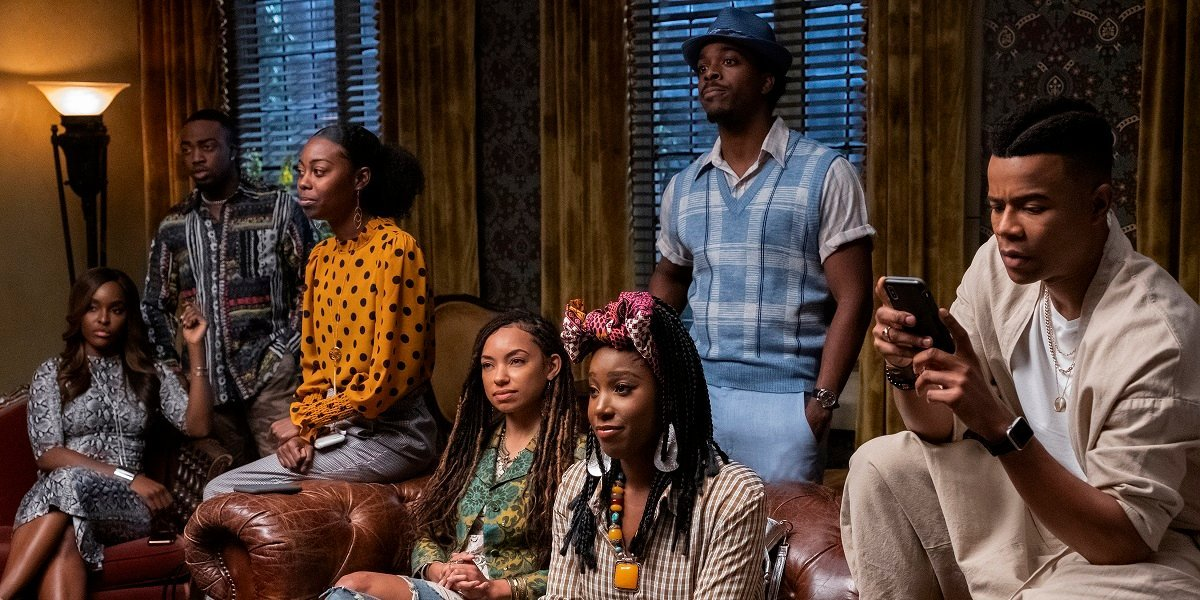 Some of the main cast of Dear White People.