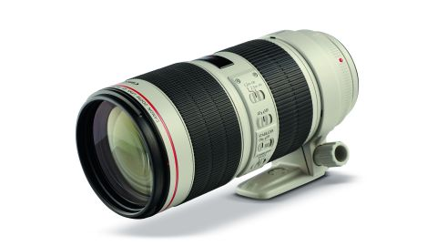 A Canon EF 70-200mm f/2.8L IS III USM lens