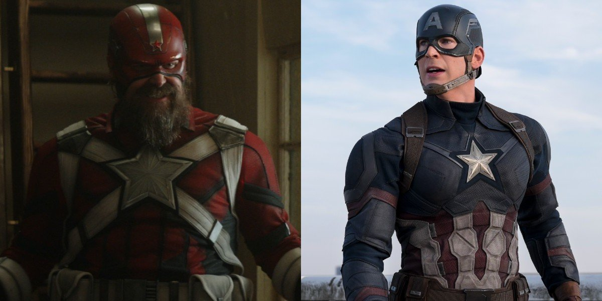 Red Guardian and Captain America