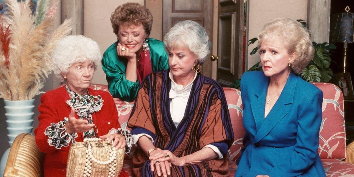 The cast of Golden Girls.