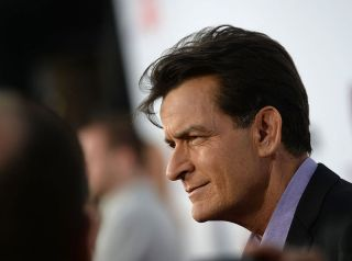 Actor Charlie Sheen in April, 2013