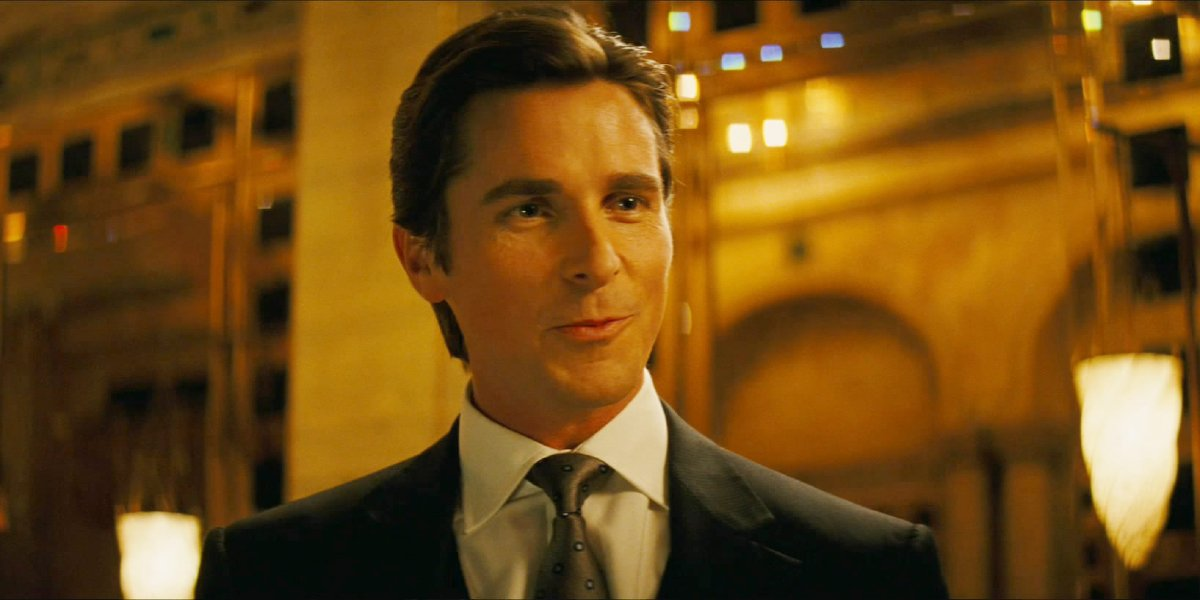 Christian Bale in The Dark Knight