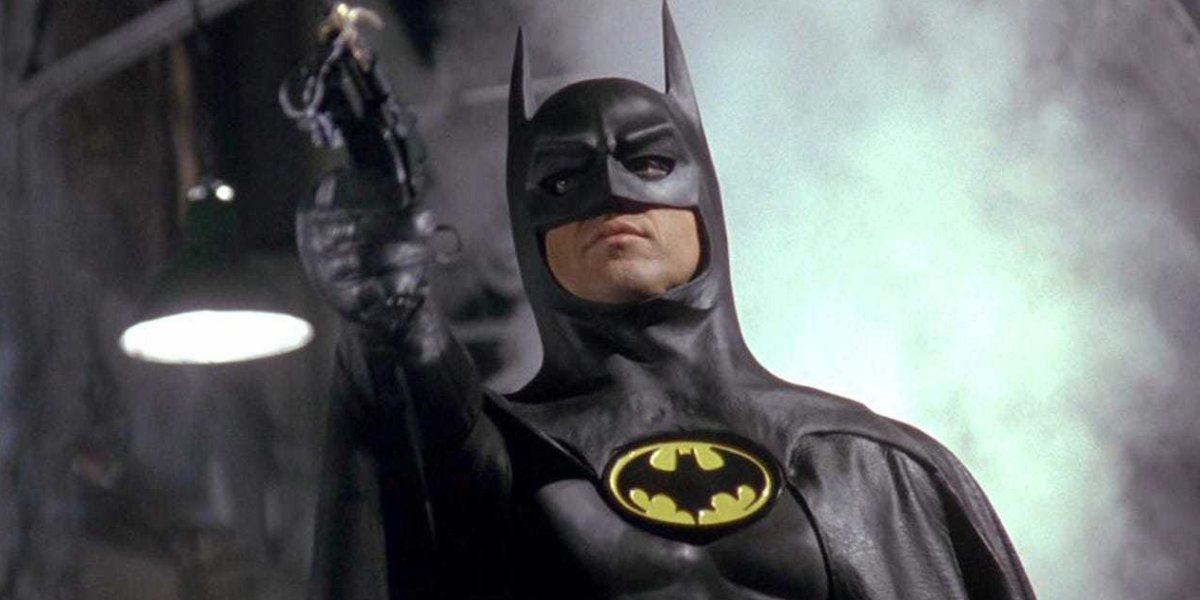Michael Keaton as Batman in Batman