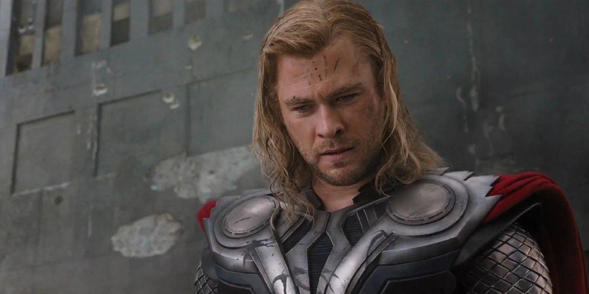 Chris Hemsworth as Thor in The Avengers