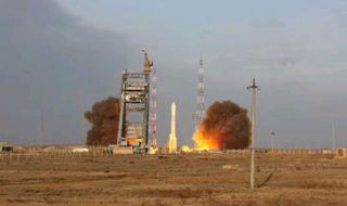 Three Russian Navigation Satellites Launch From Kazakhstan