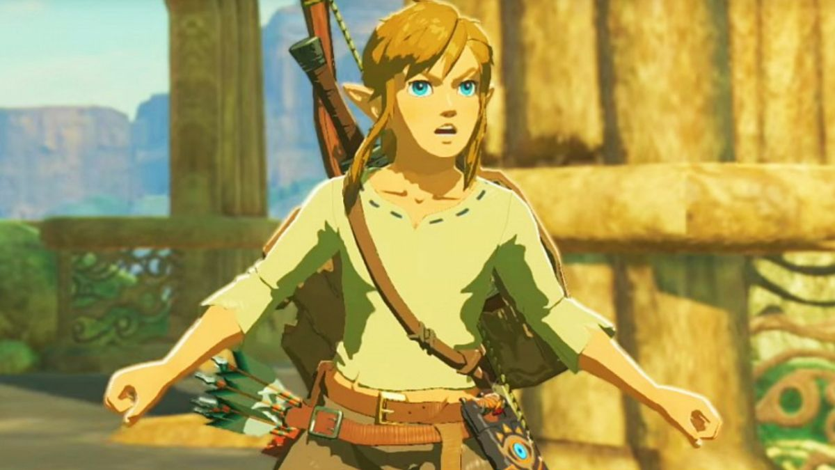 The Legend of Zelda: Breath of the Wild players discover how to ride on barrels