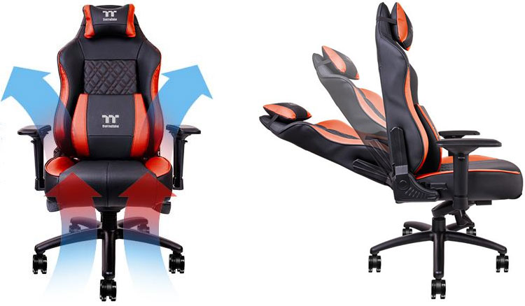 Gaming Chair Has Air Cooling