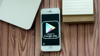 google play store on an Android mobile phone