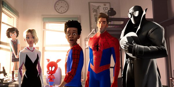 Spider-Man: Into the Spider verse, Sony