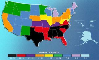 billion dollar weather disasters map