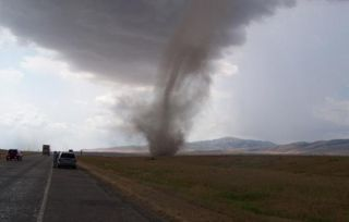 Maybe don't park your car next to a tornado...