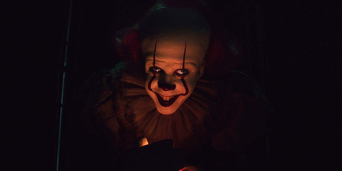 IT Chapter Two Pennywise holds a flame