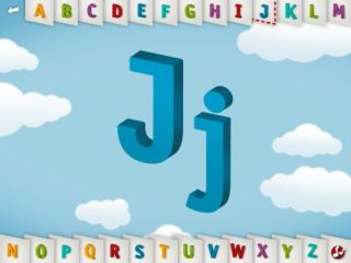 Great Graphics and Clever Design Enhance Alphabet App
