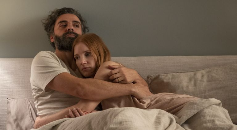 Oscar Isaac and Jessica Chastain in Scenes From a Marriage on HBO Max, what's coming to HBO Max September 2021