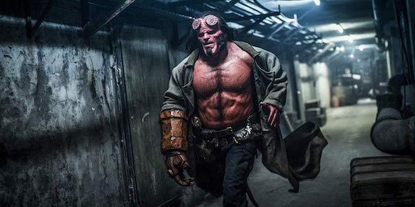 David Harbour as Hellboy