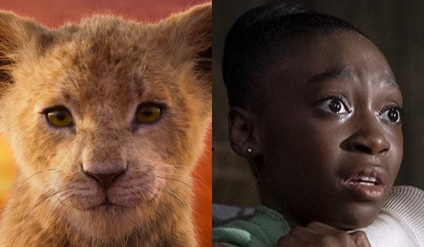 The Lion King Young Nala and Shahadi Wright Joseph side by side
