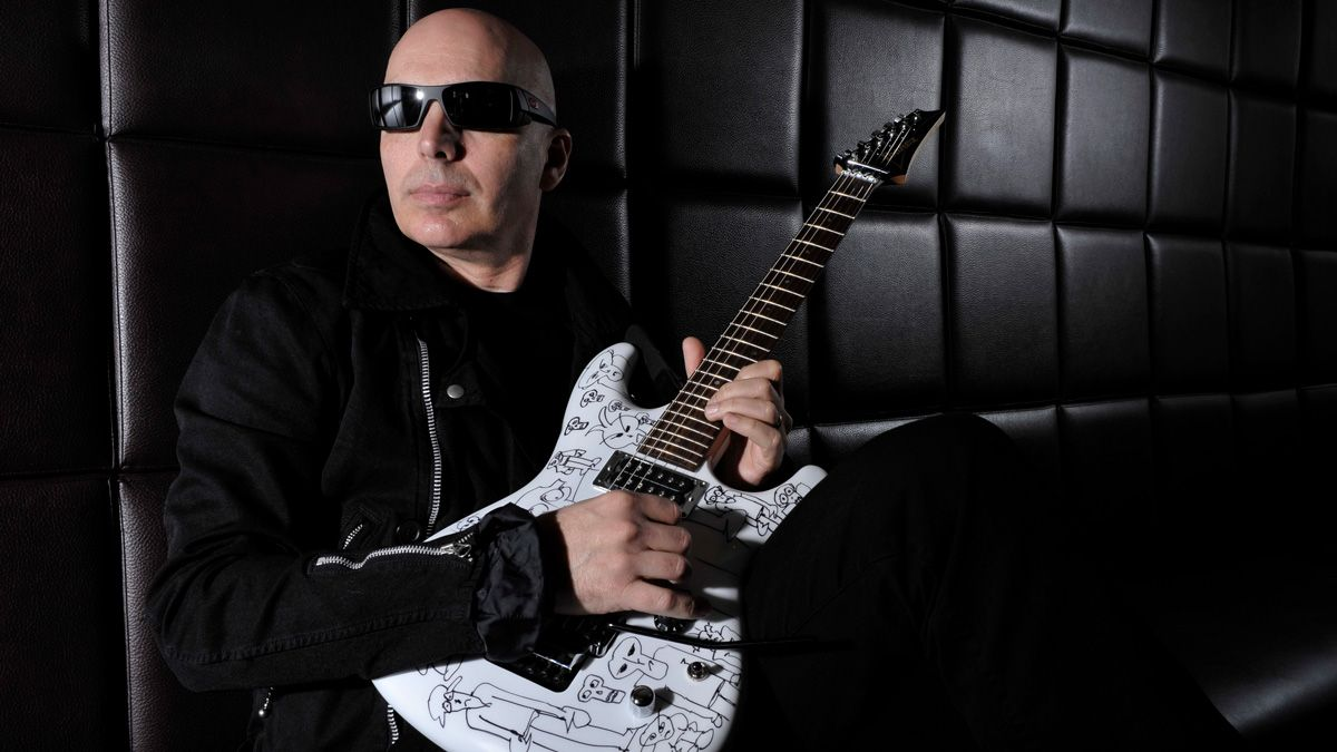 Joe Satriani on his greatest used guitar find, Bonamassa-inspired buyer's remorse and why he just can't play SGs