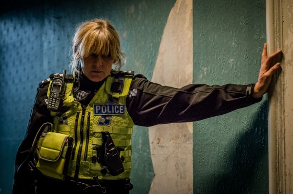 Sarah Lancashire in series 2 of Happy Valley