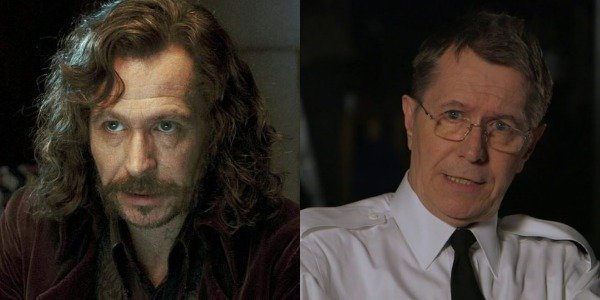 Gary Oldman as Sirius Black in Harry Potter and as CJCS Charles Donnegan in Hunter Killer