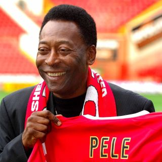 Soccer – Brazilian legend Pele visits Sheffield United – Sheffield