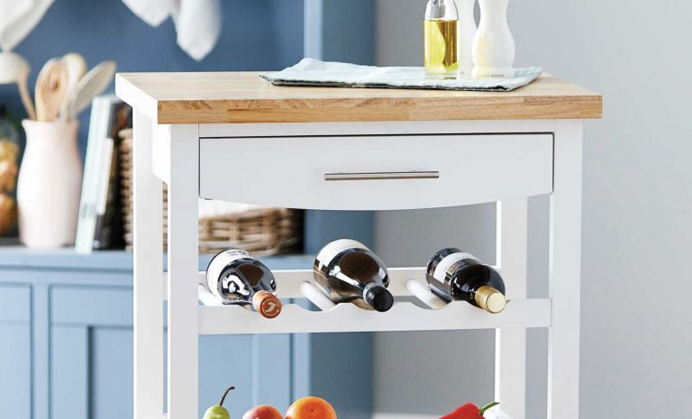 Aldi offers: Kitchen Storage Trolley from Aldi