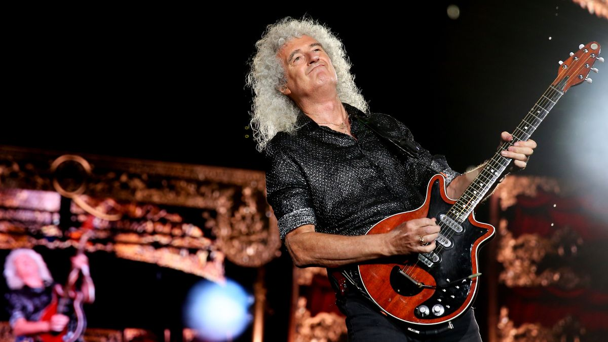 Brian May jams along with musicians to play Queen, The Beatles and Elvis