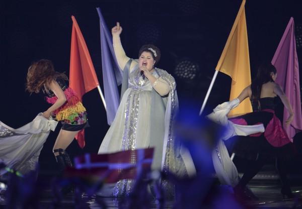 Serbia's Bojana Stamenov (Kerstin Joensson/AP)