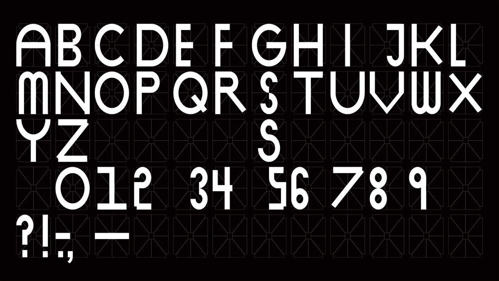 Brand typography: SKP