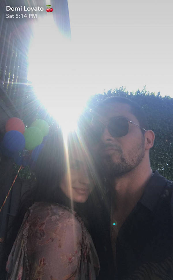 Demi Lovato and Wilmer Valderrama reunited 2