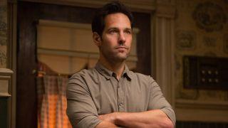 Scott Lang (Paul Rudd) looks ahead in Ant-Man (2015)