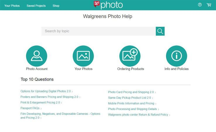 Walgreens Photo Center Review - Quality, Features, Shipping | Top
