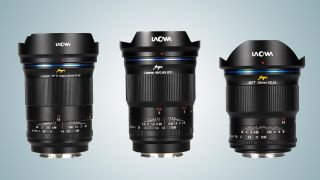 laowa 25mm, 35mm and 45mm f/0.95 lenses