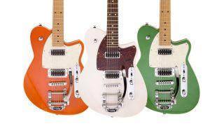 Reverend's 2021 Flatroc guitars