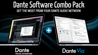 Audinate Announces $59.95 Dante Via, Virtual Soundcard Bundle