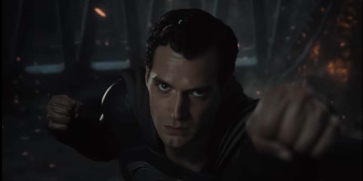 Henry Cavill as Superman in the Snyder Cut