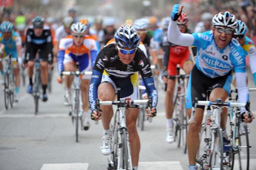 Luke Roberts wins, Tour of Murcia 2010, stage three