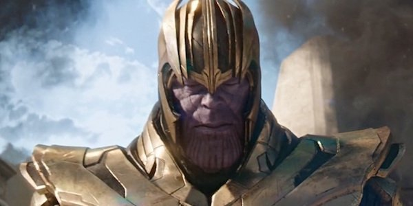 Thanos in Gamora's flashback
