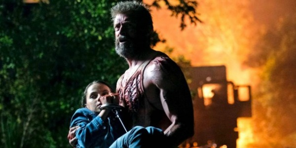 Hugh Jackman and Dafne Keen in Logan