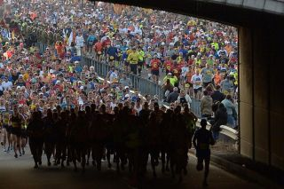 marine corps marathon, running, aging, health
